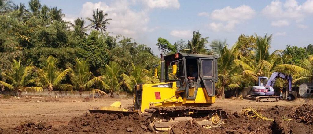 Kegiatan Land Clearing di Bali